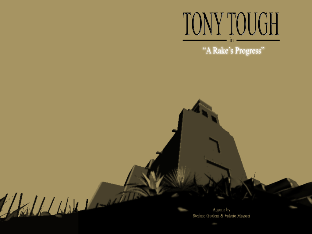 Tony Tough in A Rake's Progress title